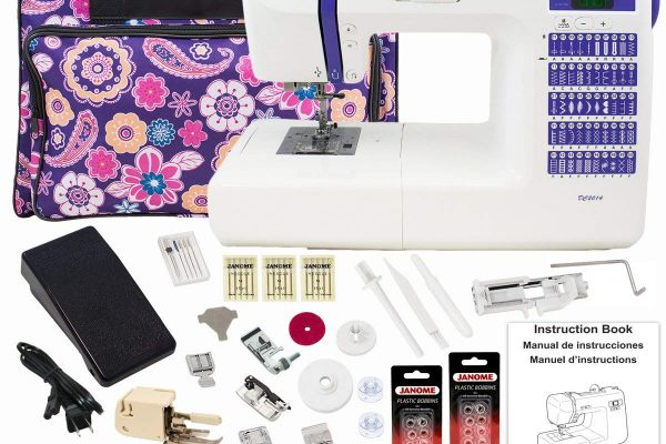 Janome DC2014 Computerized Sewing Machine Review