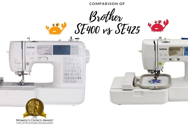 Brother SE400 vs SE425