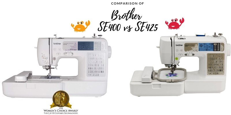 Brother S400 vs S425