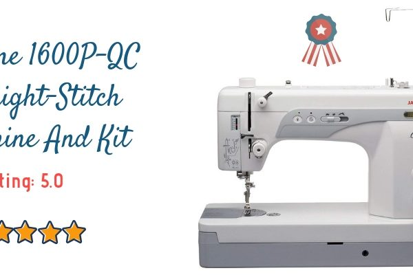 Janome 1600P-QC Straight-Stitch Machine And Kit Review