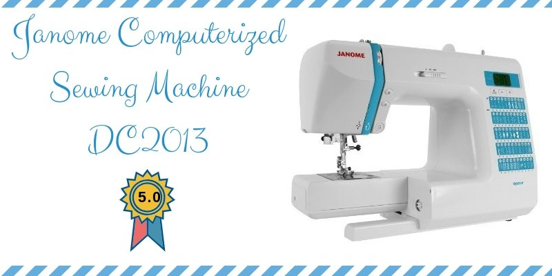Janome Computerized Sewing Machine DC2013