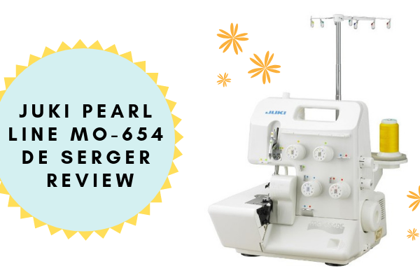 JUKI Pearl line MO-654 DE 2/3/4 Thread Over-lock Serger Review