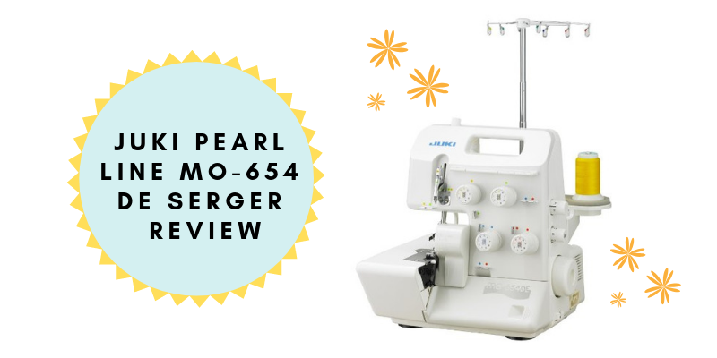 JUKI Pearl line MO-654 DE 2_3_4 Thread Over-lock Serger Review