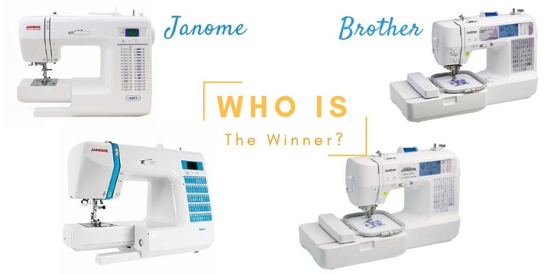Janome Vs. Brother - Who Makes The Best Sewing Machines?