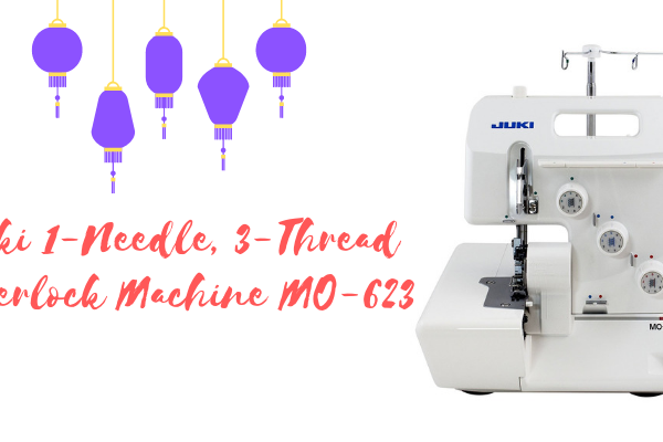Juki 1-Needle, 3-Thread Overlock Machine MO-623 Review