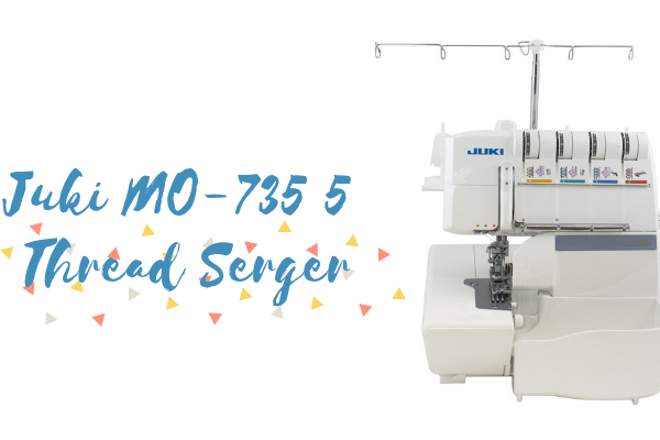 Juki MO-735 5 Thread Serger Review