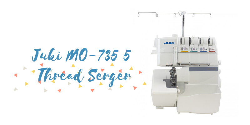 Juki MO-735 5 Thread Serger